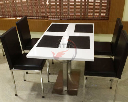 Hotel | Restaurant Table & Chairs - KTM Engineering Solution